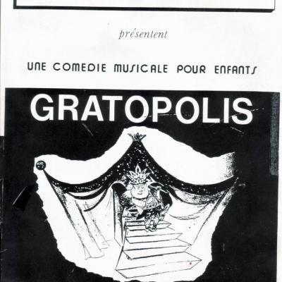 1985 GRATOPOLIS Palais des Glaces