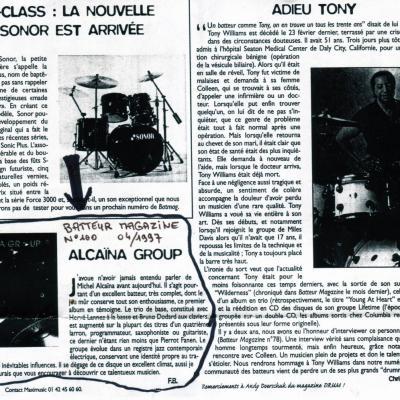 1997 04 Batteur Magazine Alcaina