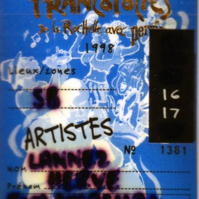 1998 Franco La Rochelle Eva Marchal