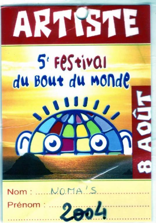 2004 8 8 NOMA'S Festival Du Bout Du Monde Afro-celtique