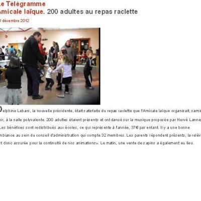 2012 12 08 LANDEVANT le télégramme