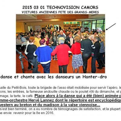 2015 03 01 Technovision Camors Voitures Anciennes