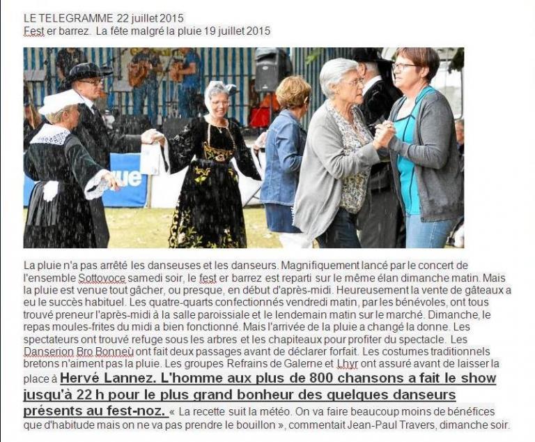 2015 07 19 FEST ER BARREZ  LE TELEGRAMME