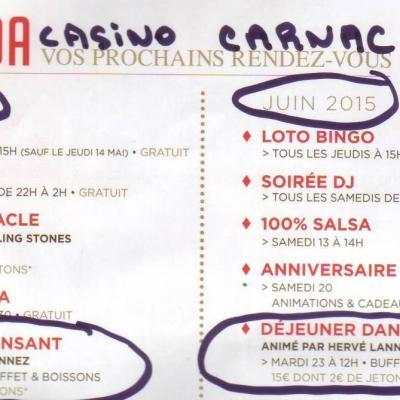 2015 2e trim Casino Carnac