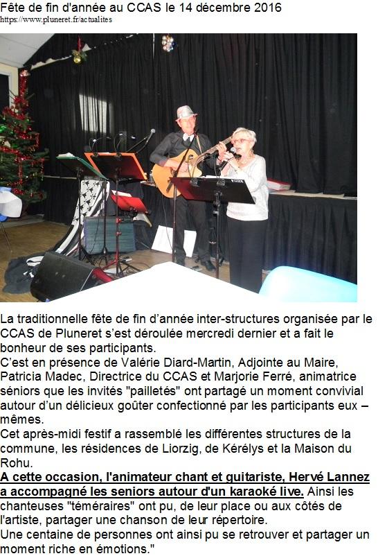 2016 CCAS PluneretKaraoké live