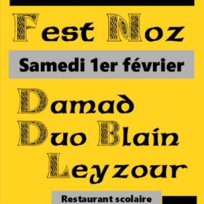 2020 02 01 Brec'h Fest-noz DAMAD affiche Brec'h