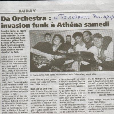 2004 11 04 DA ORCHESTRA LE TÉLÉGRAMME