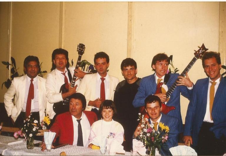 Avec Bruno Lorenzoni 1986